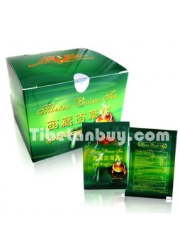 Tibetan Baicao Tea | security label